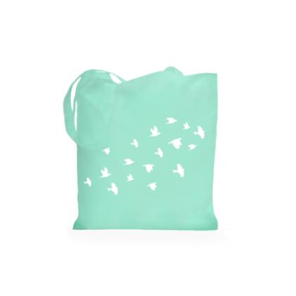 ptice mint totebag torbica