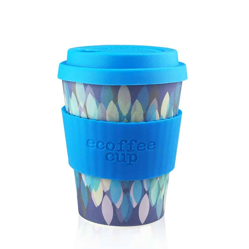Šalica za kavu ili čaj Ecoffee Sakura Blue 355 ml