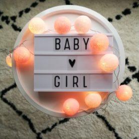 pamučna svjetla baby girl za djevojku hanskome hrvatska