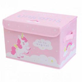 kutija za skladištenje igračaka unicorn