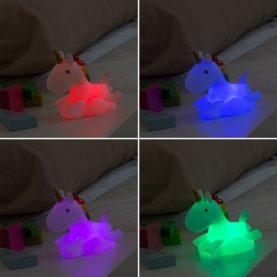 noćna lampica jednorog LED