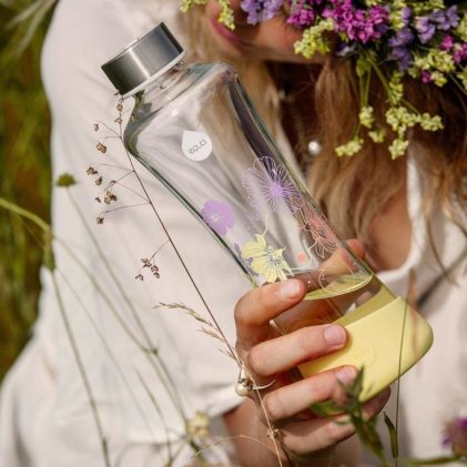 equa staklena boca daisy flowerhead collection
