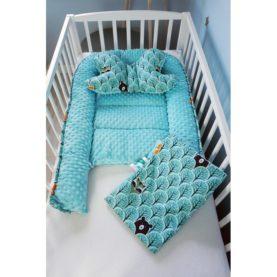 Gnijezdo, jastuk i pokrivač za bebe ŠUMA