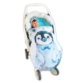 Zimska vreća za kolica Pingvin Plavi