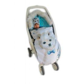 Zimska vreća za kolica Medvjed Plavi