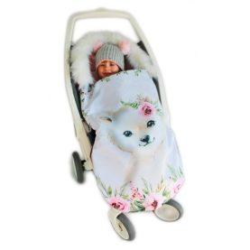 Zimska vreća za kolica Medvjed Ružičasti